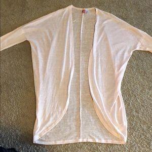 Sweaters - Sheer Long Sleeve Cardigan